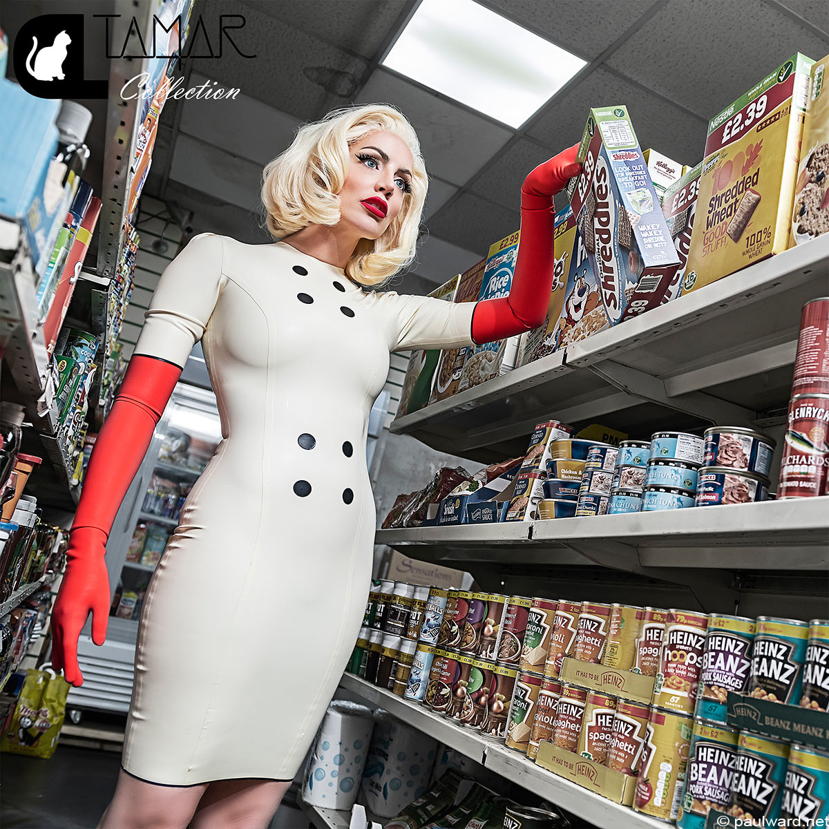 Fashion photography for Catalyst Latex featuring Tamar Roxx