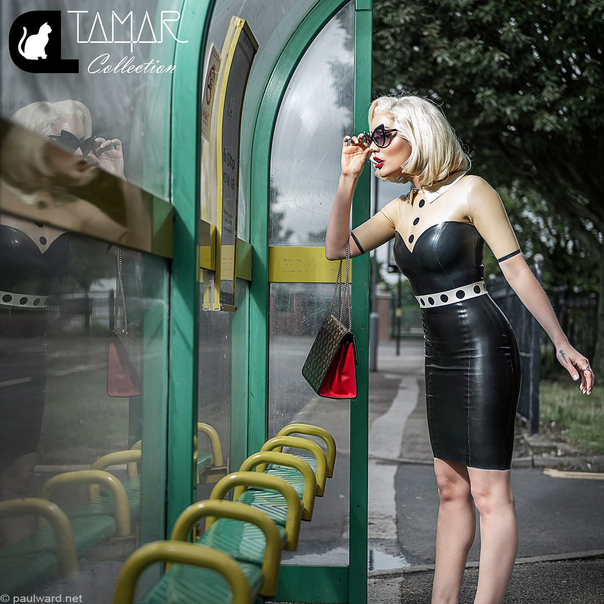 Fashion photography for Catalyst Latex featuring Tamar Roxx by Birmingham photographer Paul Ward