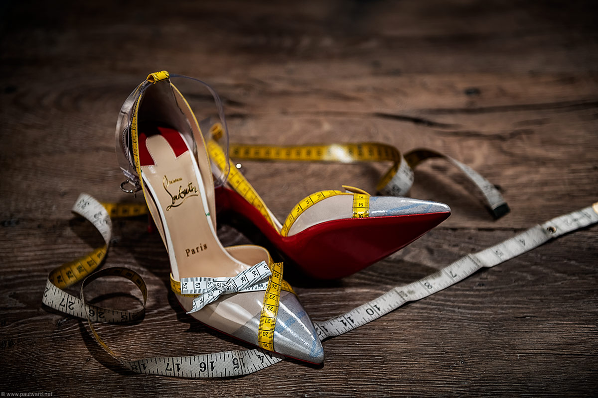 Christian Louboutin shoes by Birmingham Photographer Paul Ward