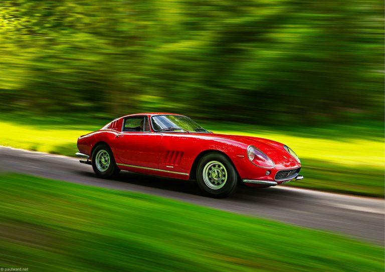 Ferrari 275GTB by Birmingham car photographer Paul Ward