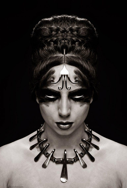 Makeup photography by Birmingham portrait photographer Paul Ward