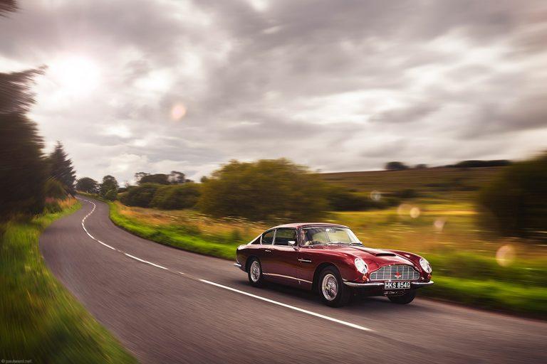 Aston Martin DB6 by automotive photographer Paul Ward