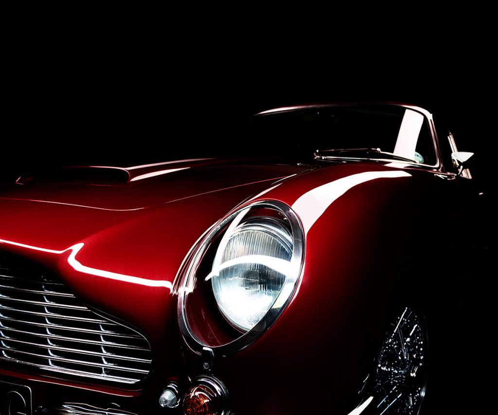 Aston Martin DB6 by automotive photographer Paul Ward