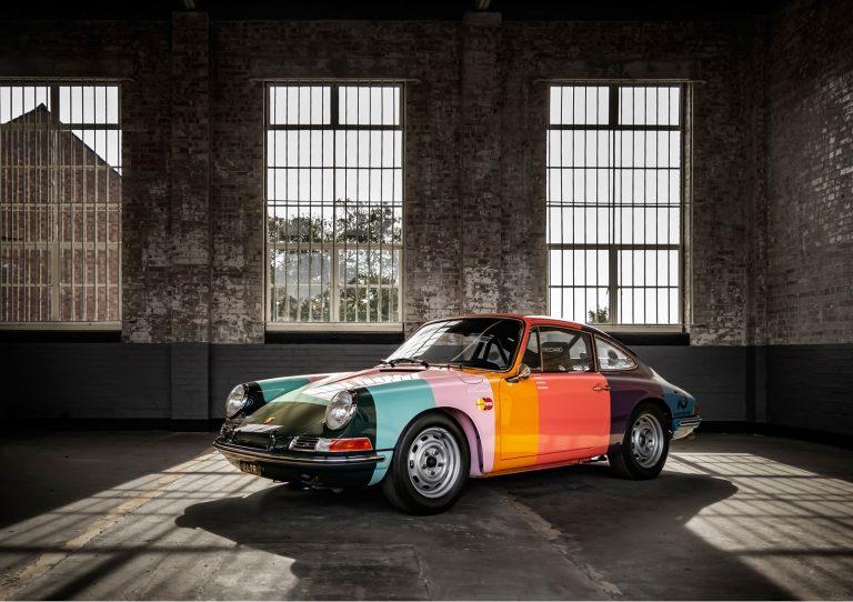 Paul Smith Porsche 911 by automotive photographer Paul Ward