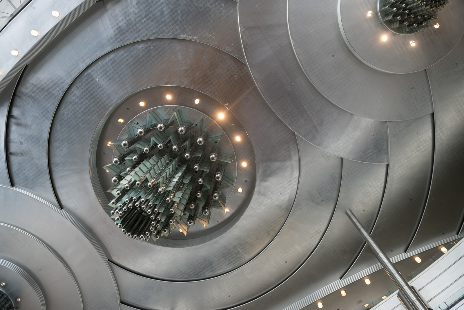 Petronas tower interior by architectural photographer Paul Ward