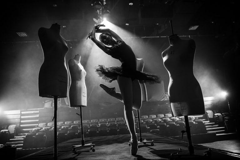 Ballet dancer by portrait photographer Paul Ward
