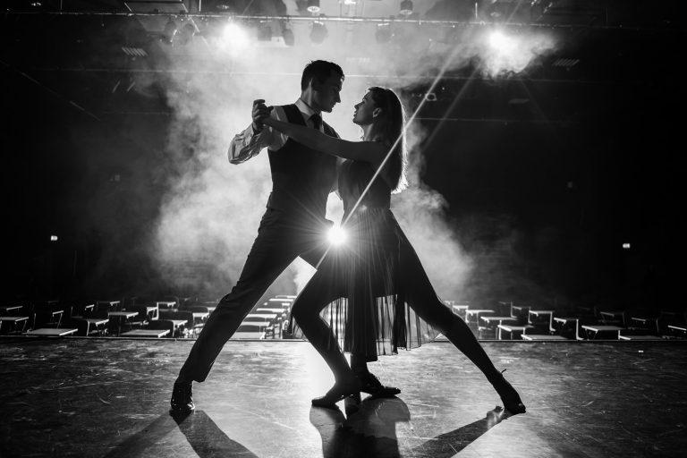 Dancers by portrait photographer Paul Ward