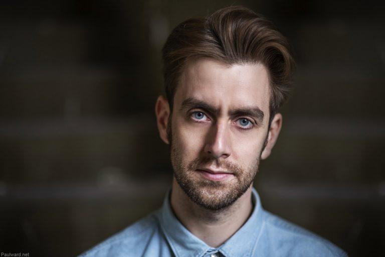 Actor portfolio shoots by Birmingham portrait photographer Paul Ward