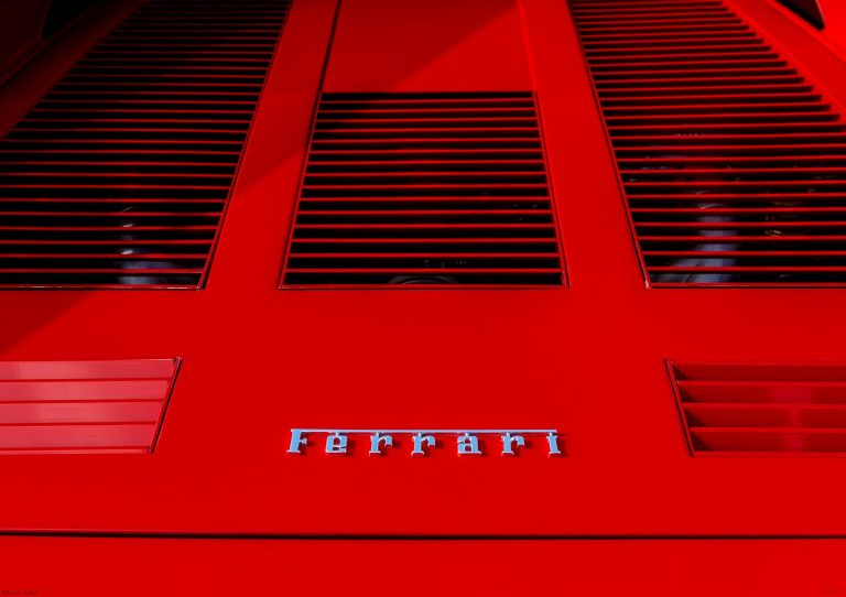 Ferrari 288GTO detail by Birmingham car photographer Paul Ward