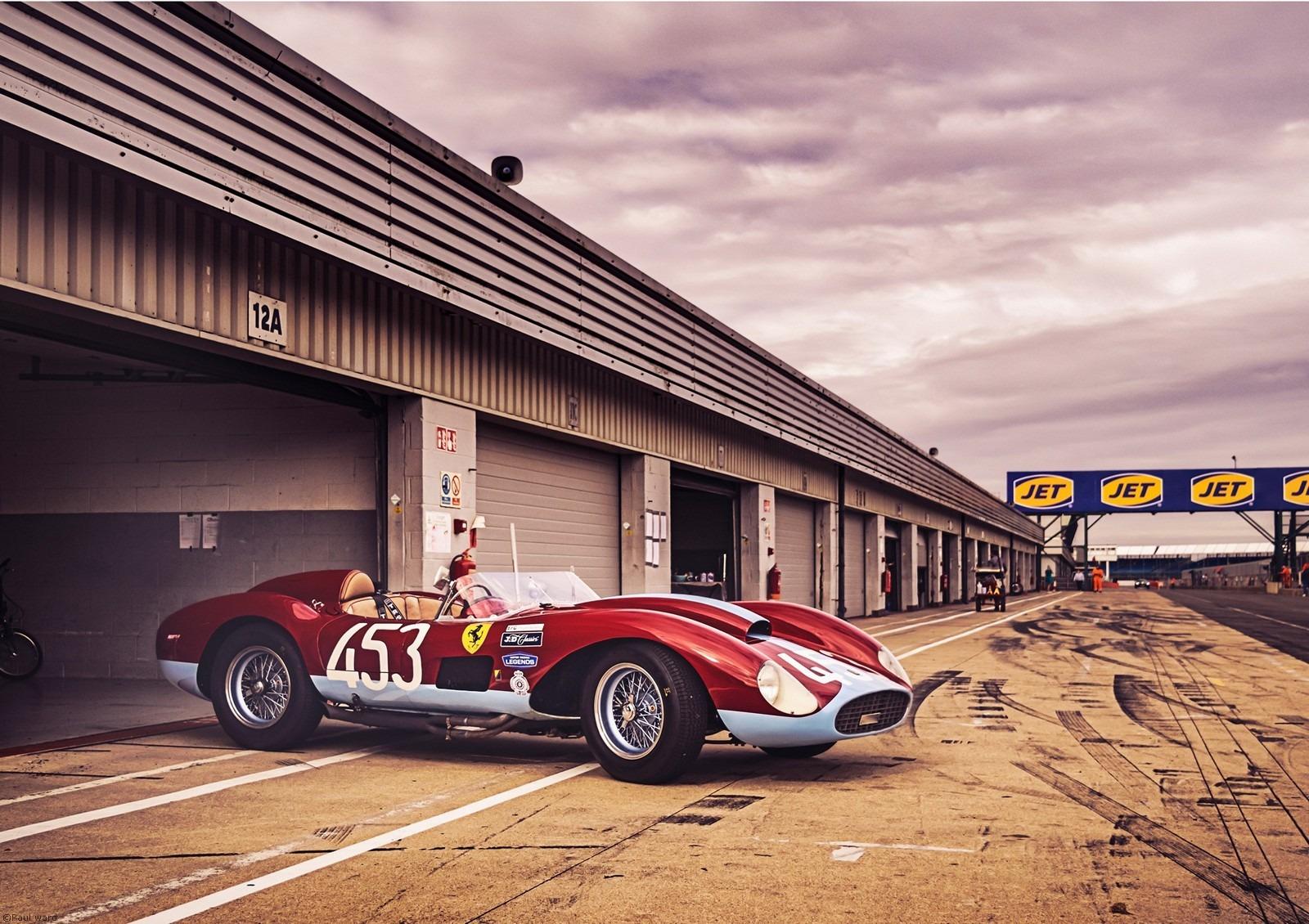 Ferrari car by Birmingham car photographer Paul Ward