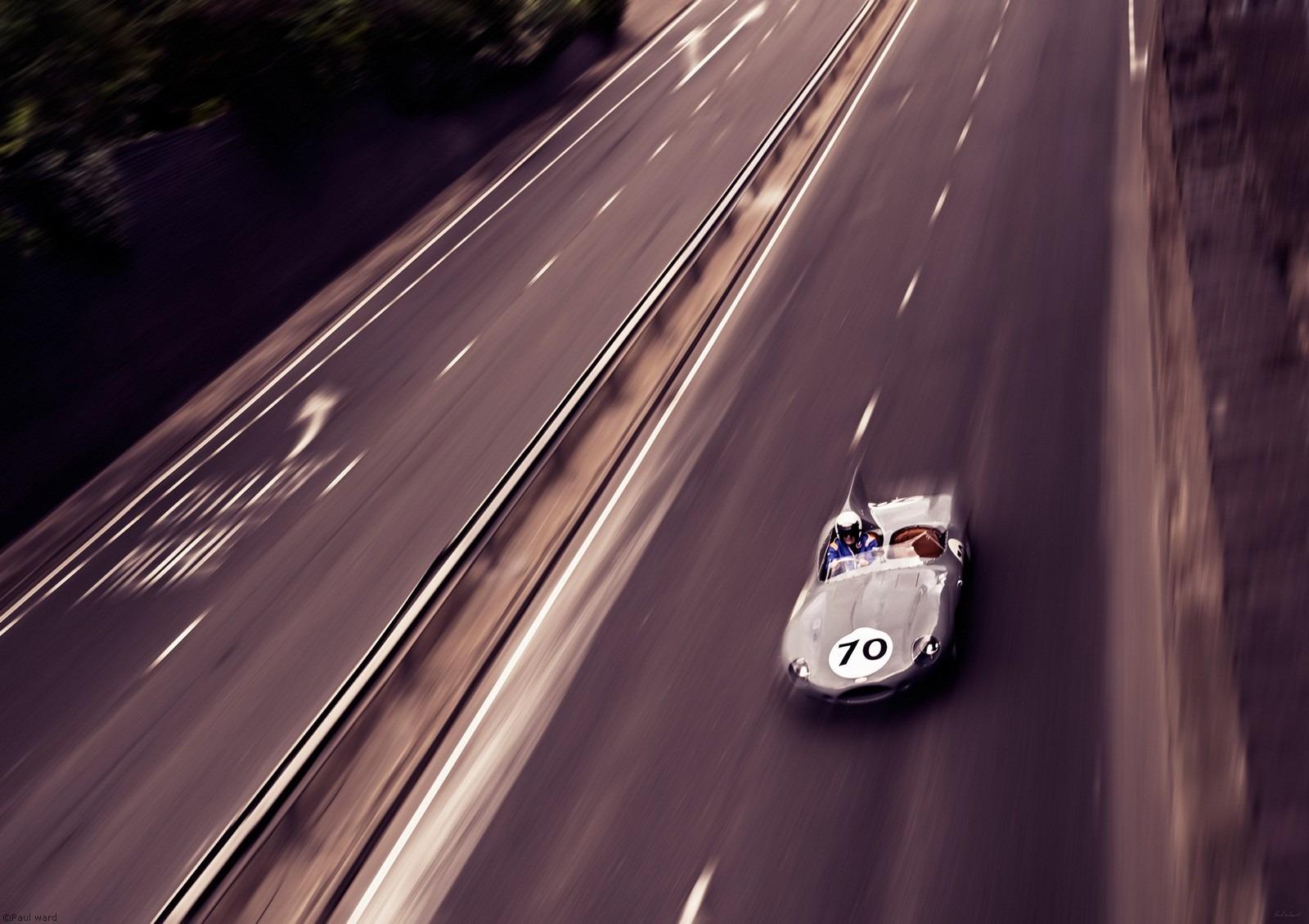 D type Jaguar car by Birmingham car photographer Paul Ward