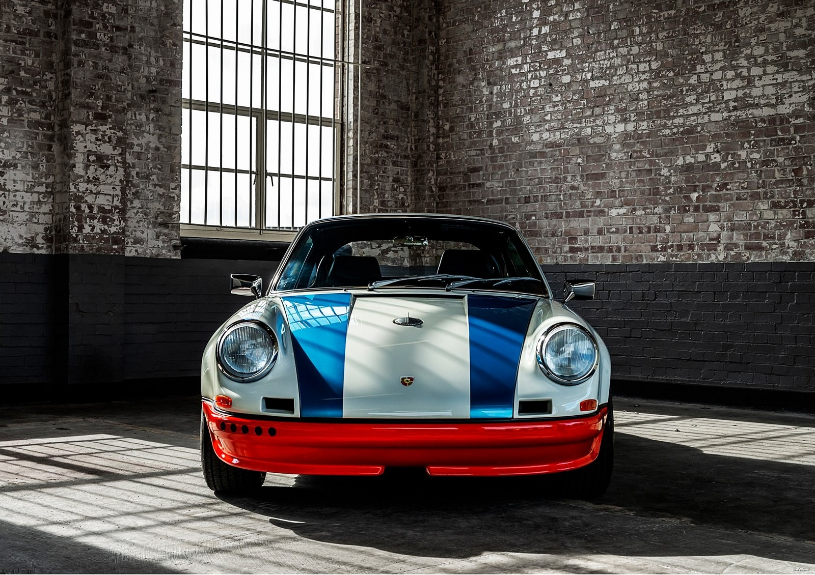 Magnus Walker Porsche 911 by Birmingham car photographer Paul Ward