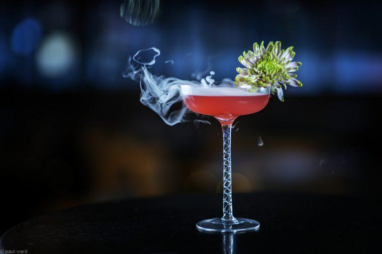 Smoking cocktail by Birmingham photographer Paul Ward