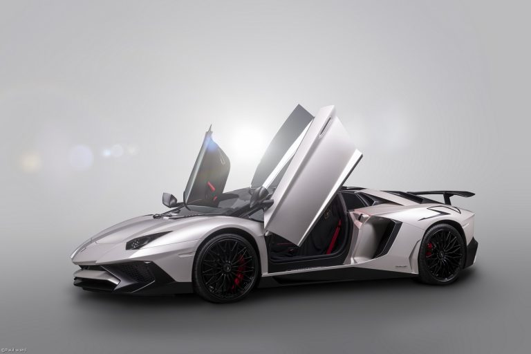 Lamborghini Aventador sv car photography by Birmingham car photographer Paul Ward